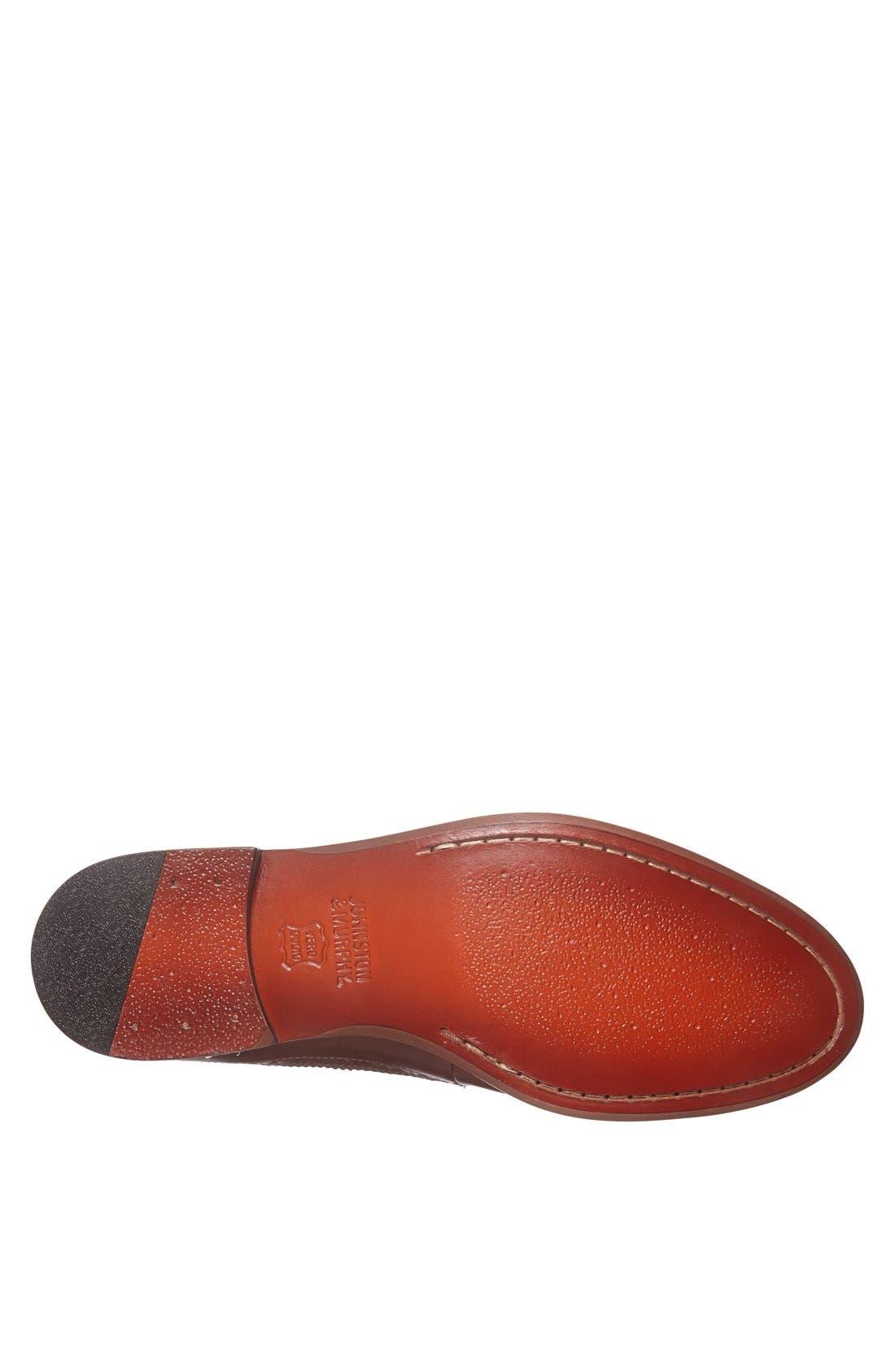 Alternate Image 4  - Johnston & Murphy 'Clayton' Longwing Spectator Shoe (Online Only)