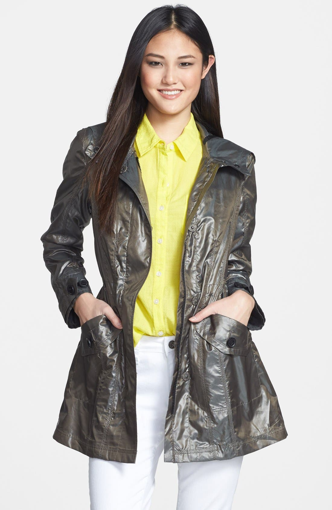 Vince Camuto Hooded Anorak
