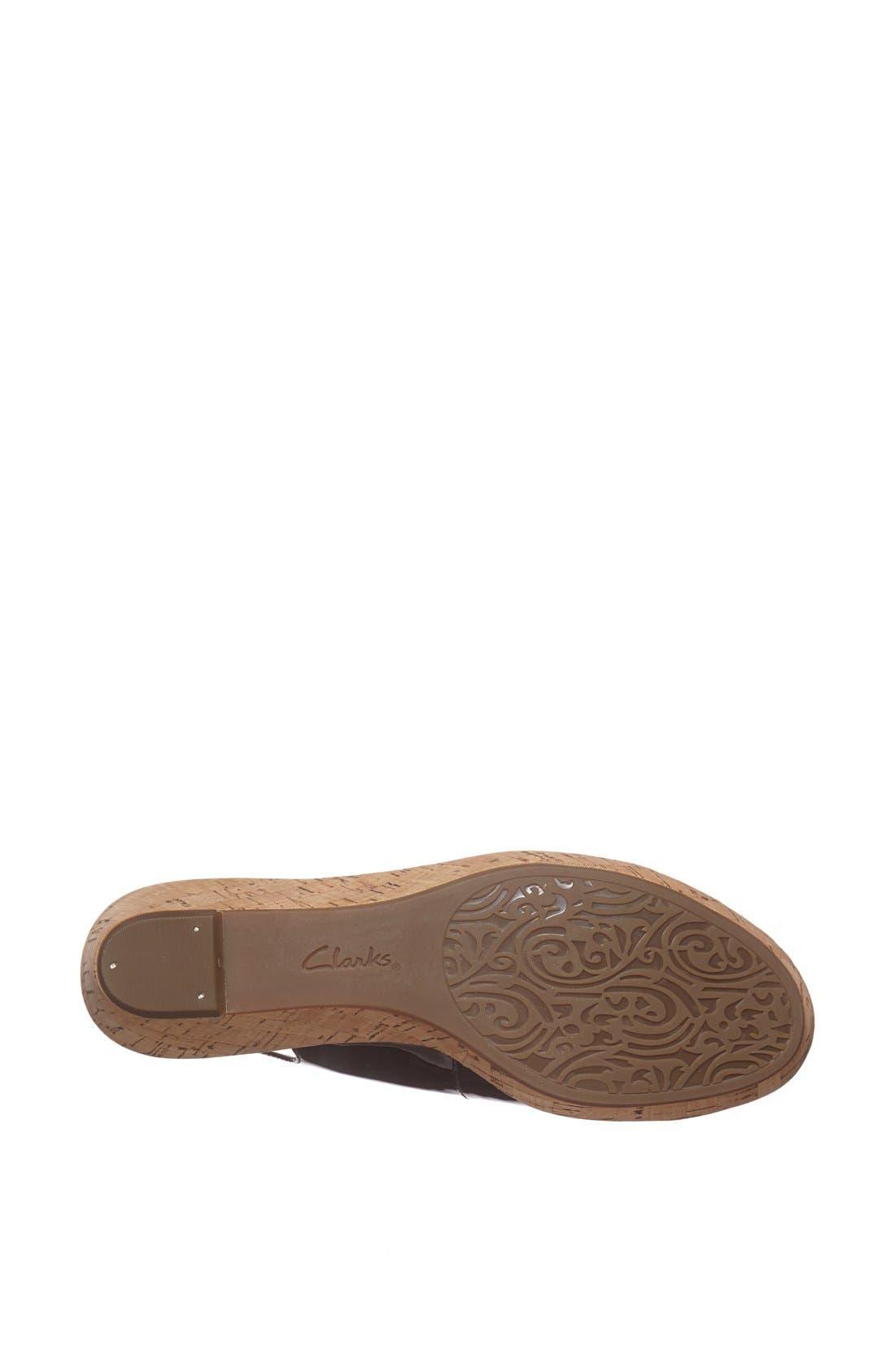 Alternate Image 3  - Clarks® 'Orlena Currant' Sandal (Regular Retail Price: $99.95)