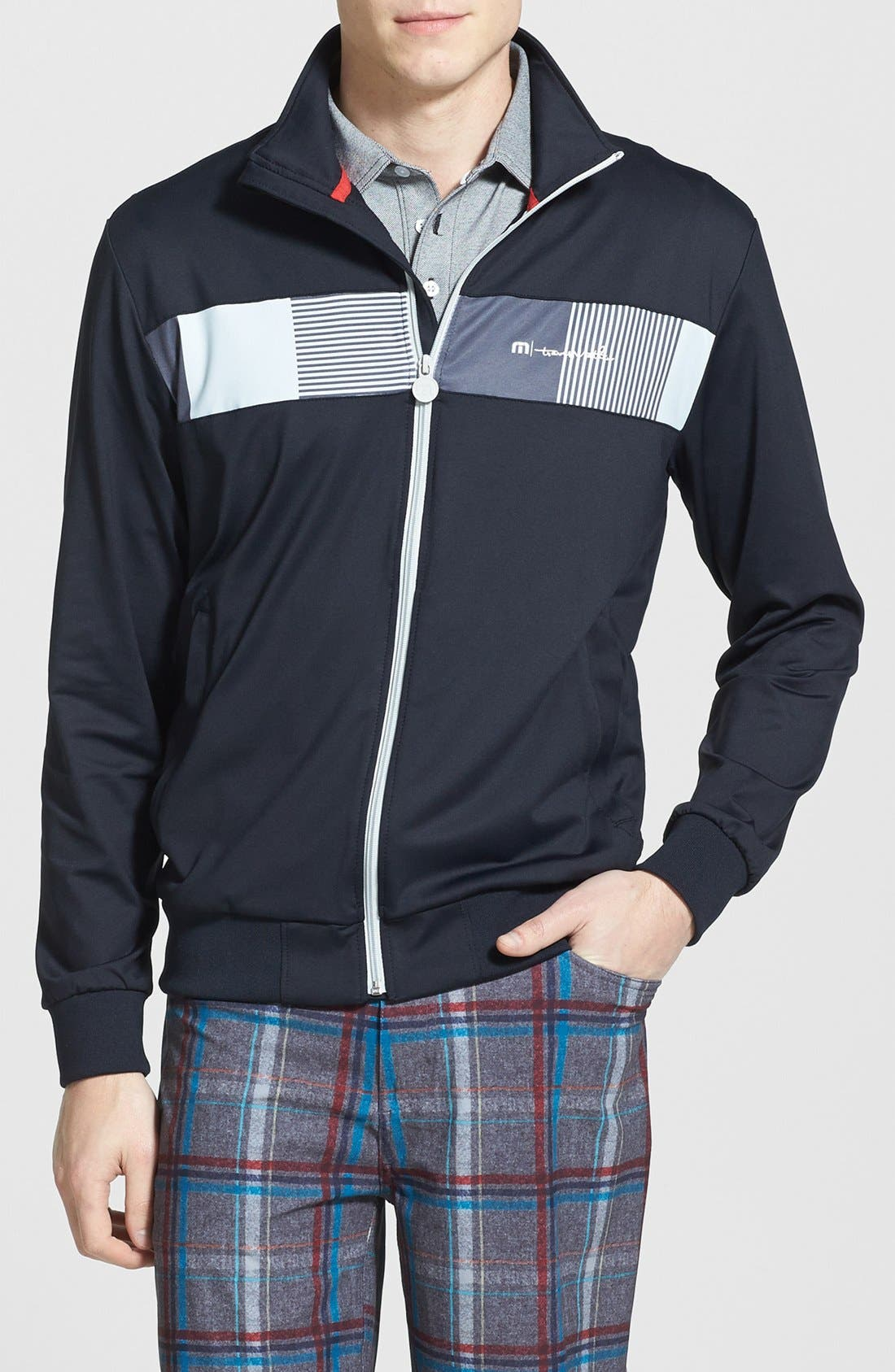 Alternate Image 1 Selected - Travis Mathew 'Fiction' Trim Fit Full Zip Track Jacket