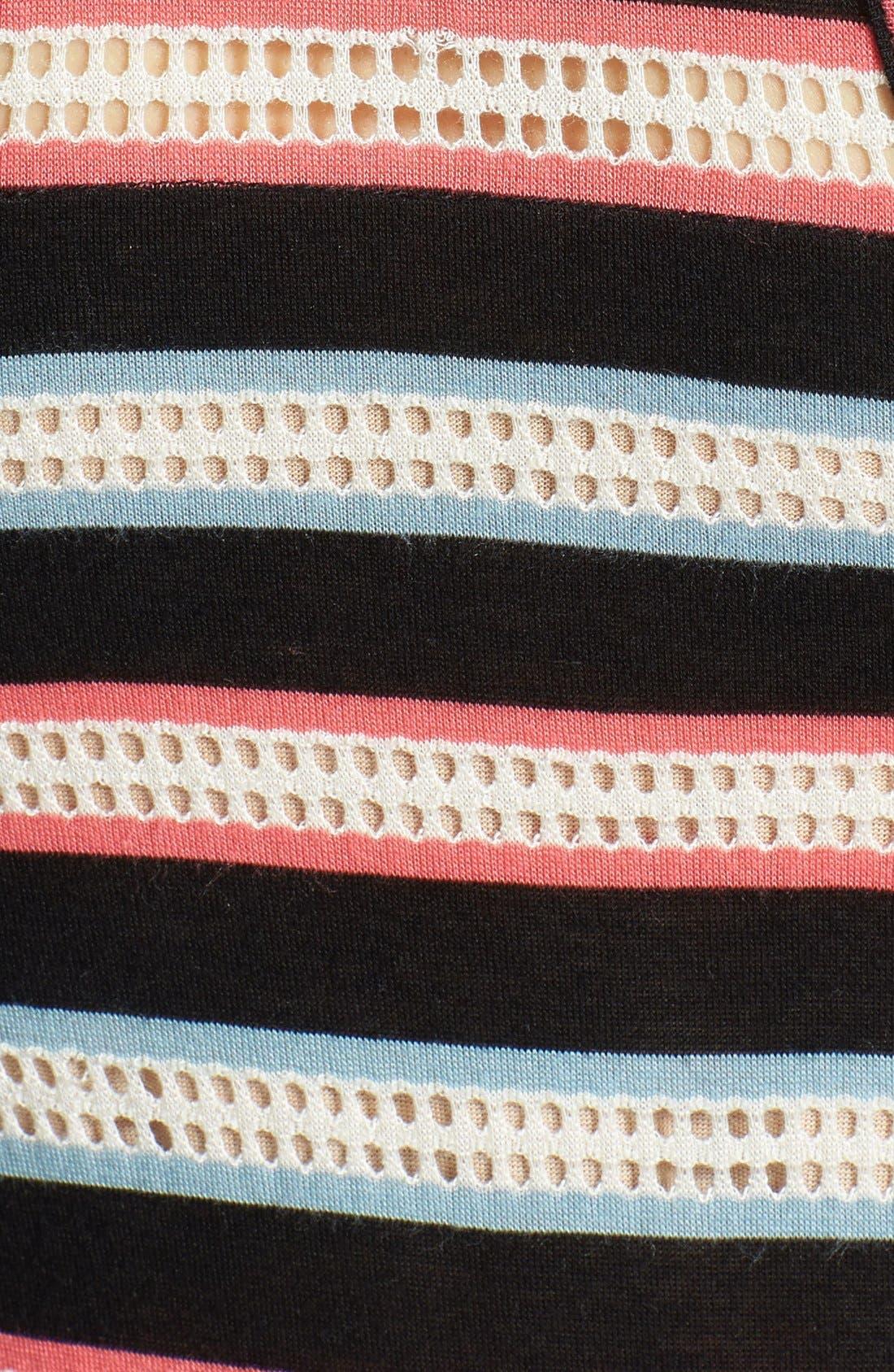 Alternate Image 3  - MARC BY MARC JACOBS 'Miriam' Mesh Stripe Racerback Maxi Dress