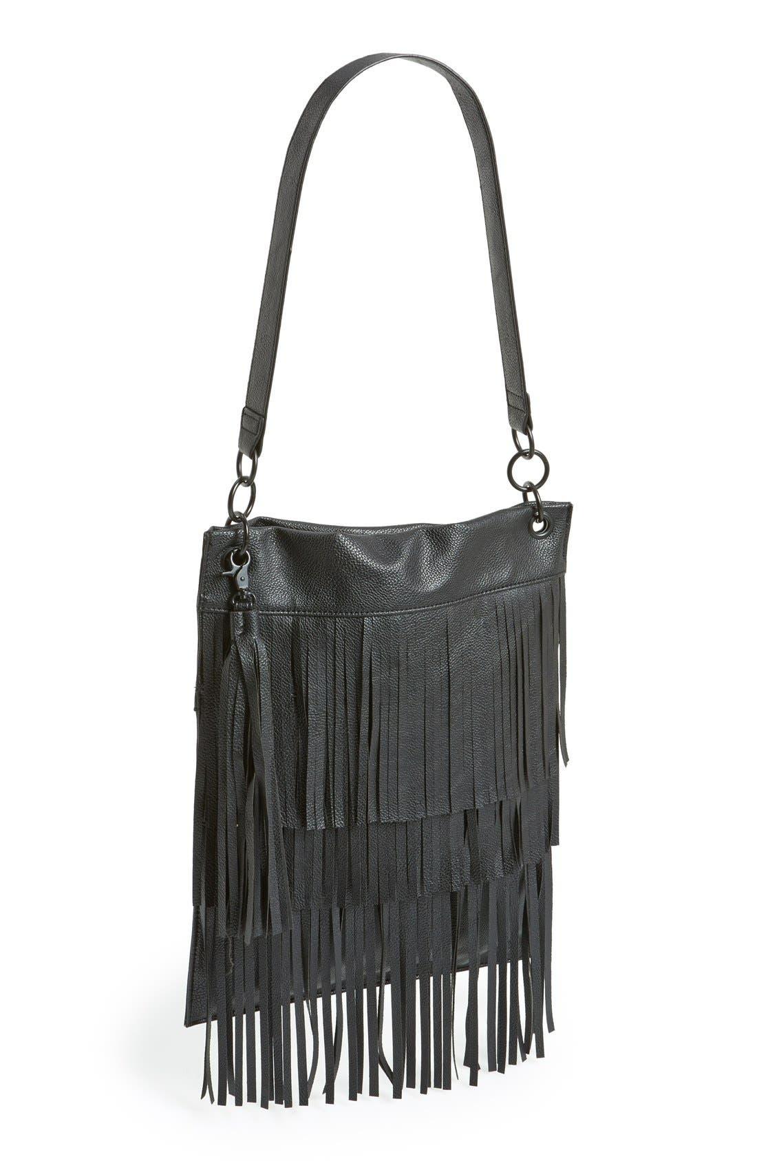 Alternate Image 1 Selected - Leith Layered Fringe Shoulder Bag