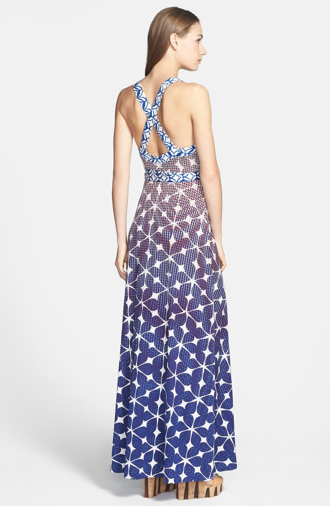 Alternate Image 2  - Diane von Furstenberg 'Samson' Silk Maxi Dress