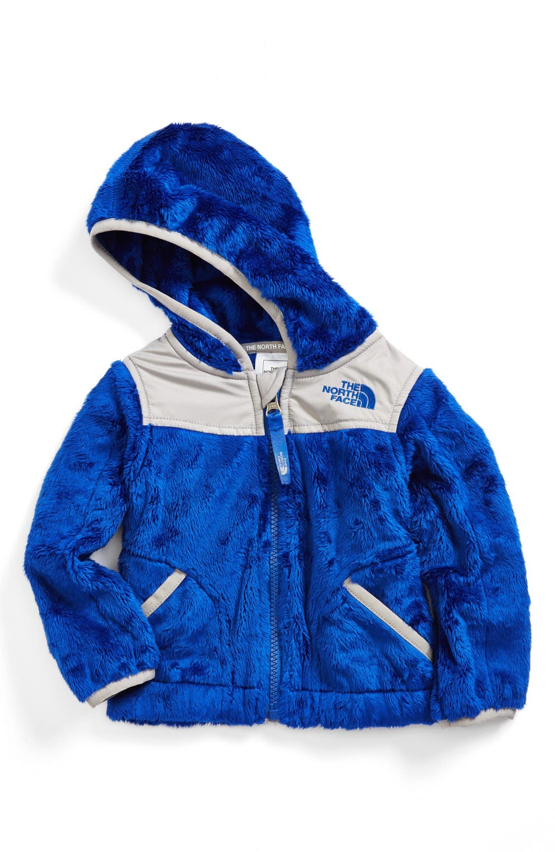 Alternate Image 1 Selected - The North Face 'Oso' Fleece Hooded Jacket (Baby Boys)