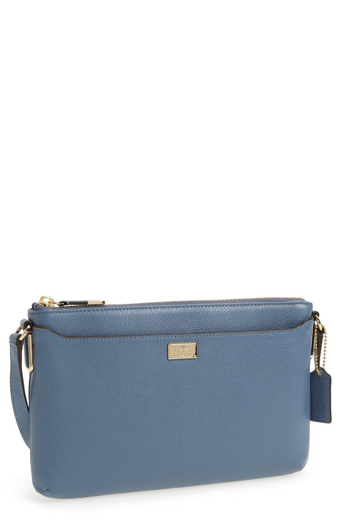 Alternate Image 1 Selected - COACH 'Madison - New Swingpack' Leather Crossbody Bag
