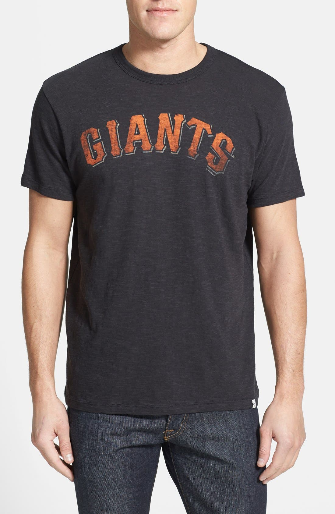 Alternate Image 1 Selected - 47 Brand 'San Francisco Giants - Scrum' Graphic T-Shirt