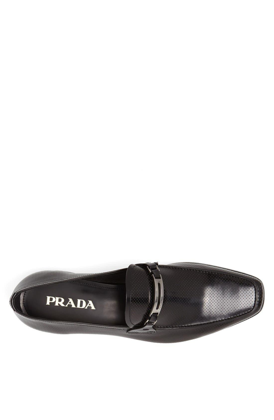 Alternate Image 3  - Prada Leather Bit Loafer