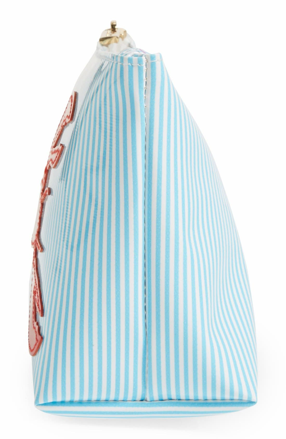 Alternate Image 2  - Lolo 'Avery Stripe - Medium' Cosmetics Case