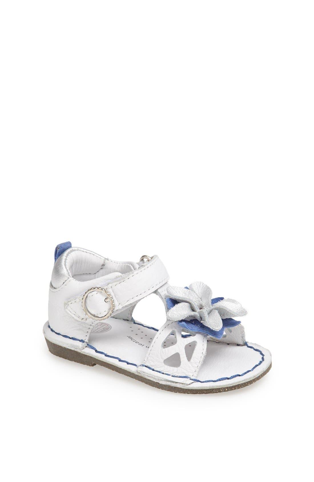 Alternate Image 1 Selected - Stride Rite 'Haven' Sandal (Baby, Walker & Toddler)