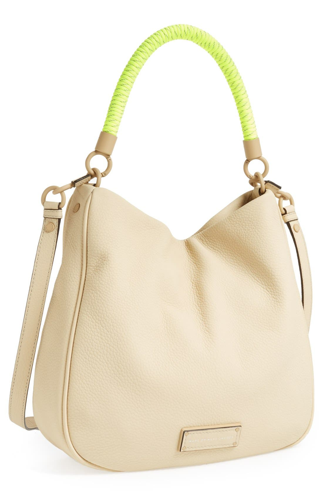 Main Image - MARC BY MARC JACOBS 'Too Hot to Handle' Leather Hobo