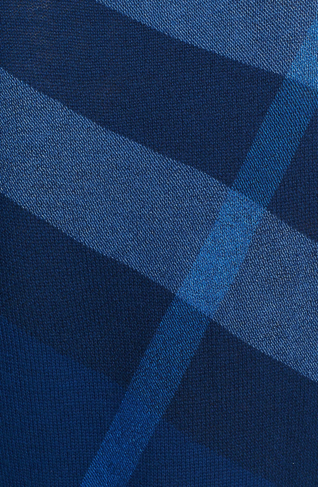 Alternate Image 3  - Burberry Brit Check Pattern Merino & Cashmere Sweater