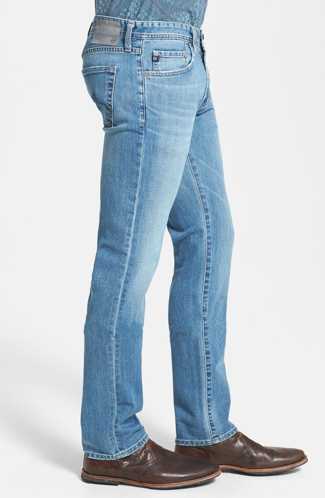 Alternate Image 3  - AG 'Matchbox' Slim Fit Jeans (Swift)