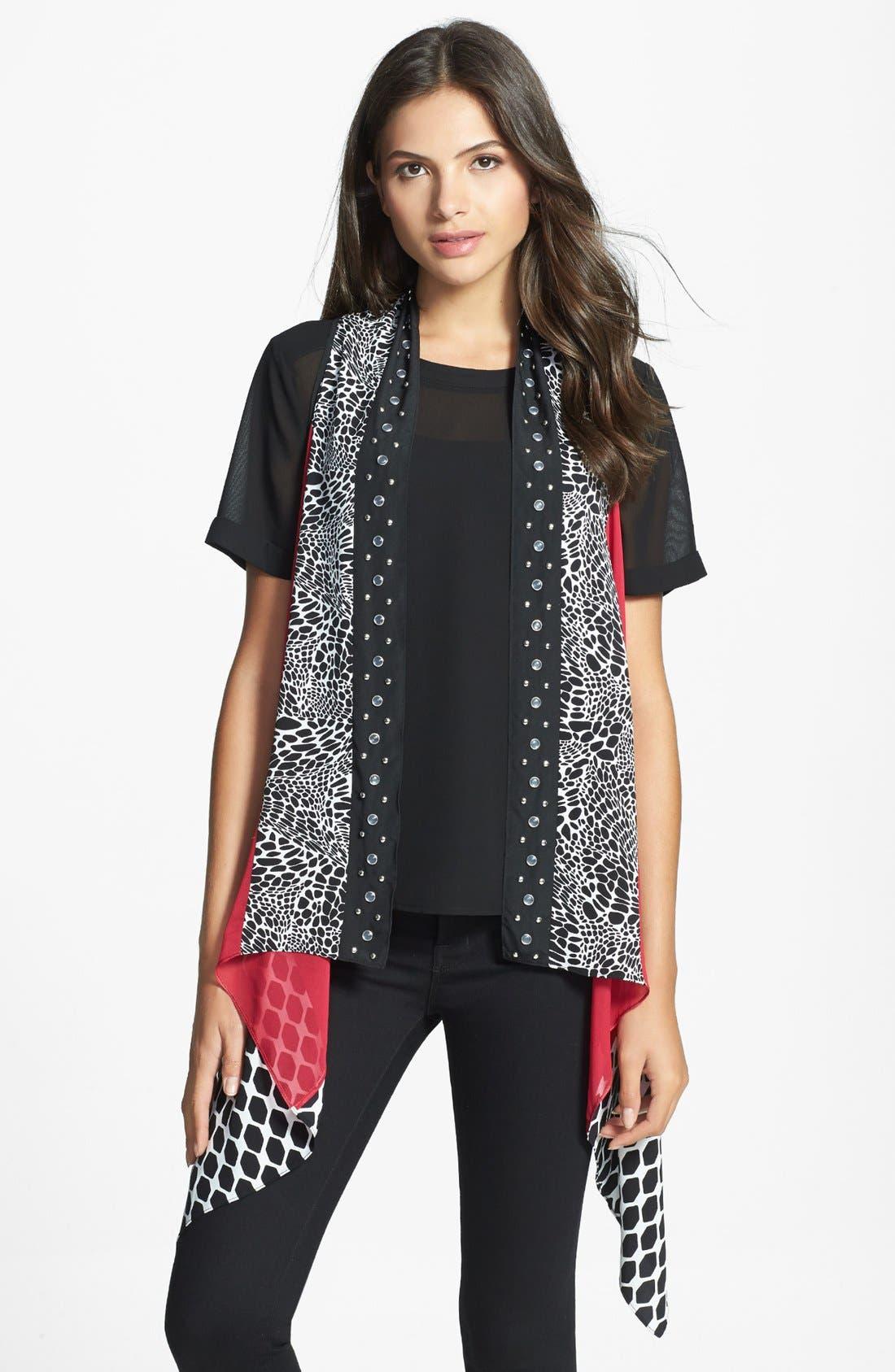 Alternate Image 1 Selected - Diane von Furstenberg Silk Wrap Vest