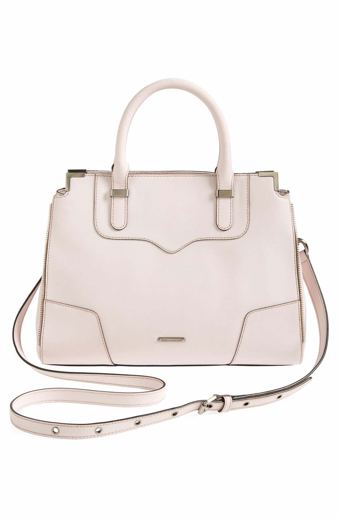 Alternate Image 4  - Rebecca Minkoff 'Amourous' Leather Satchel