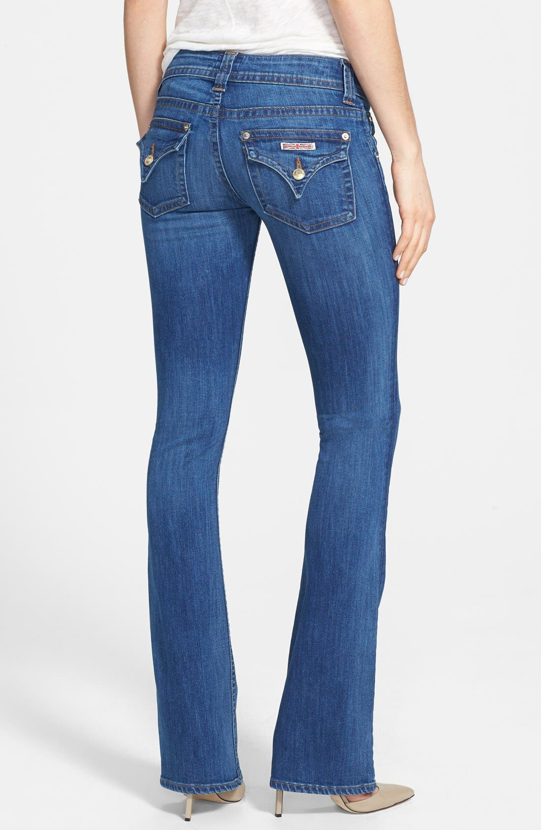 Alternate Image 2  - Hudson Jeans Signature Bootcut Jeans (Watchtower)