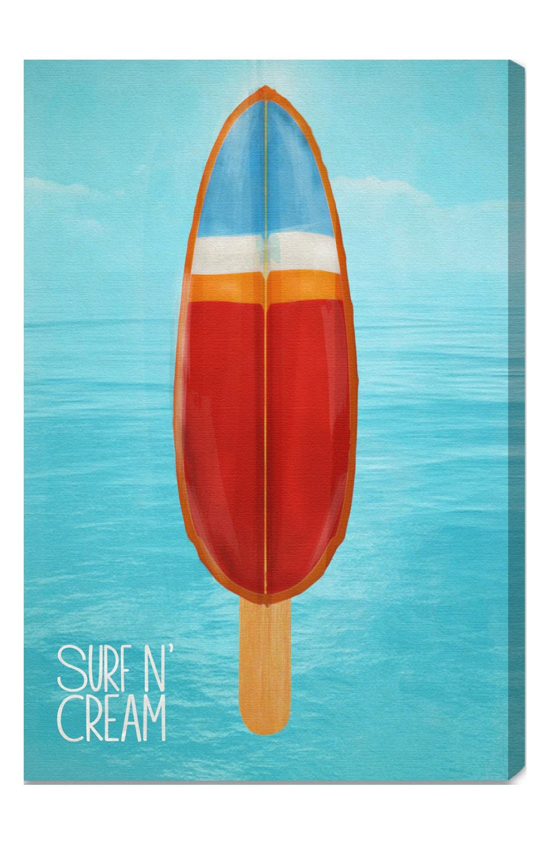 Main Image - Oliver Gal 'Surf 'n Cream' Wall Art