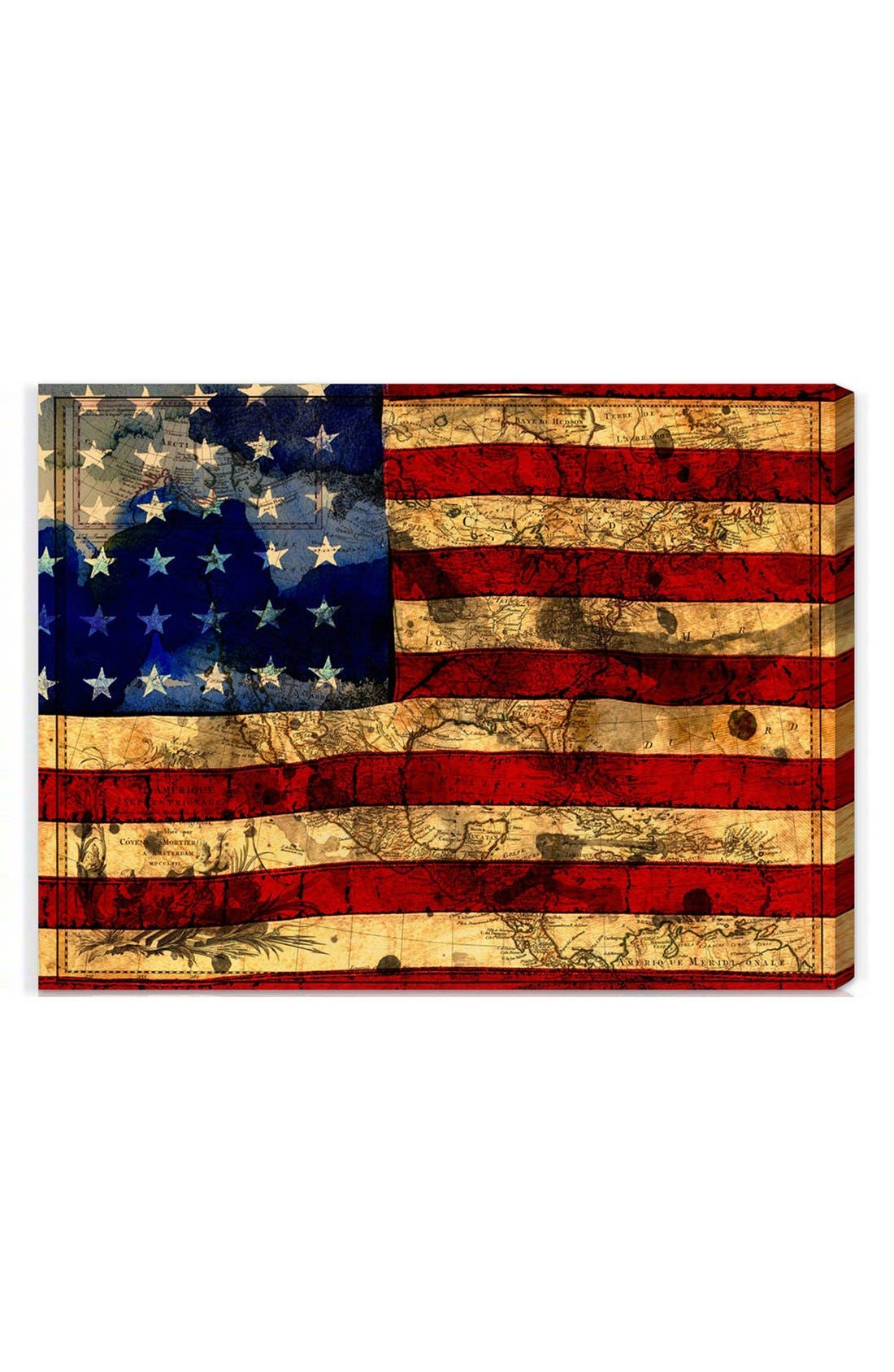 Oliver Gal 'The Flag' Wall Art