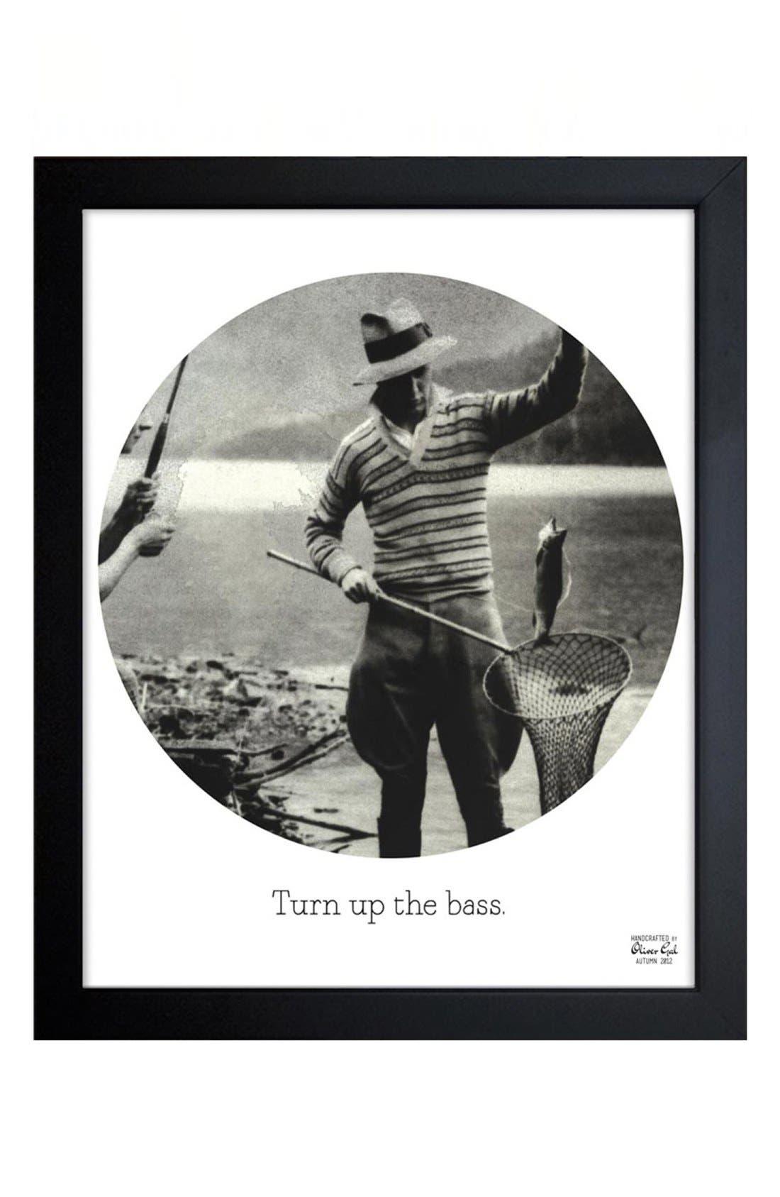Alternate Image 1 Selected - Oliver Gal 'Turn Up the Bass' Framed Print