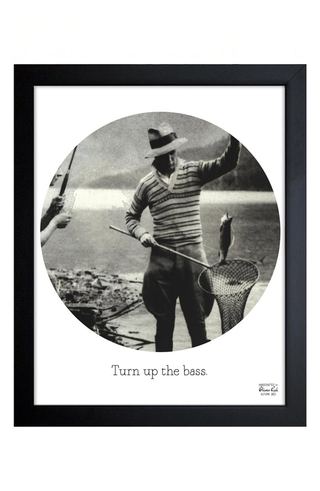 Main Image - Oliver Gal 'Turn Up the Bass' Framed Print