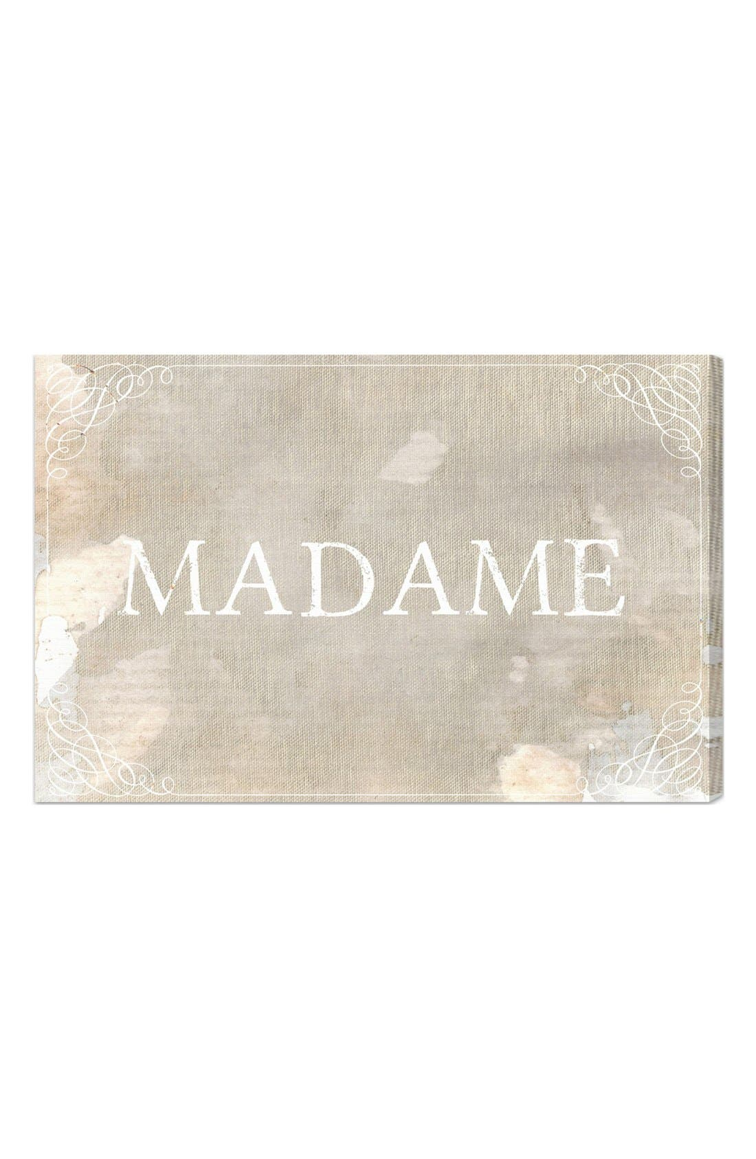 Main Image - Oliver Gal 'Madame' Wall Art