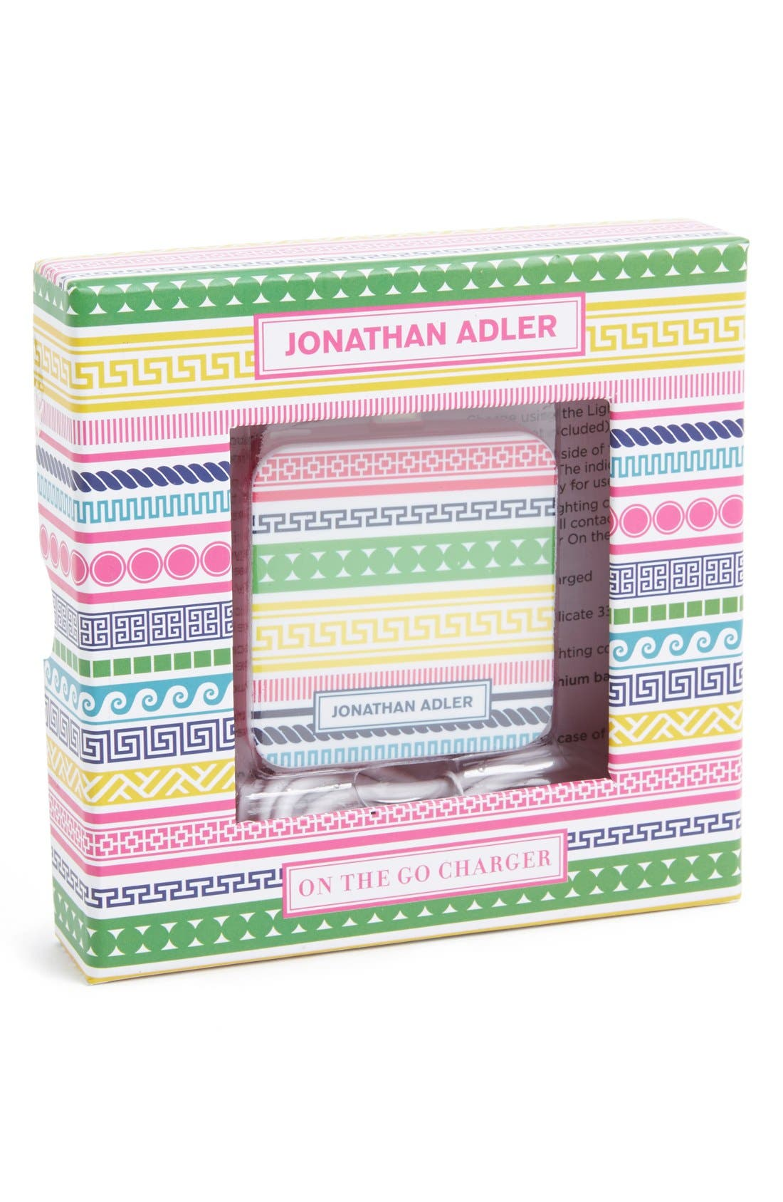 Alternate Image 1 Selected - Jonathan Adler 'On the Go - Architectural' iPhone 5, 5s & 5c Charger