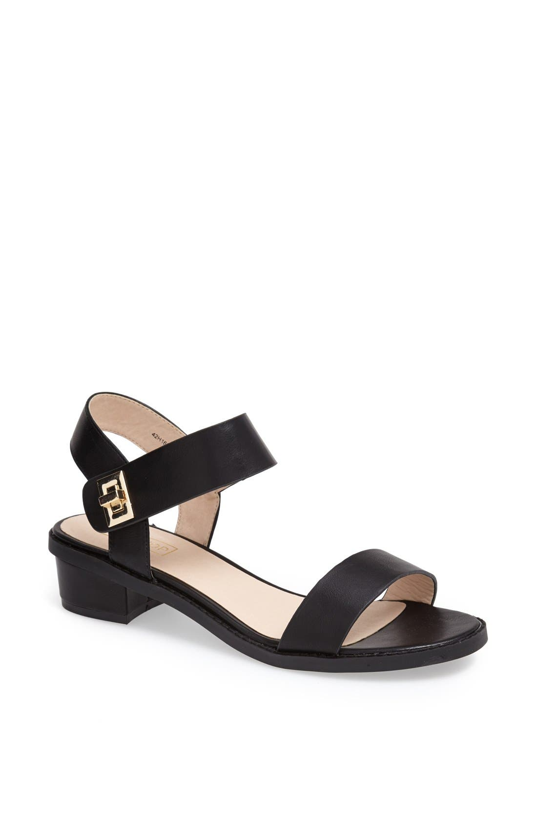 Alternate Image 1 Selected - Topshop 'Heartbreaker' Sandal
