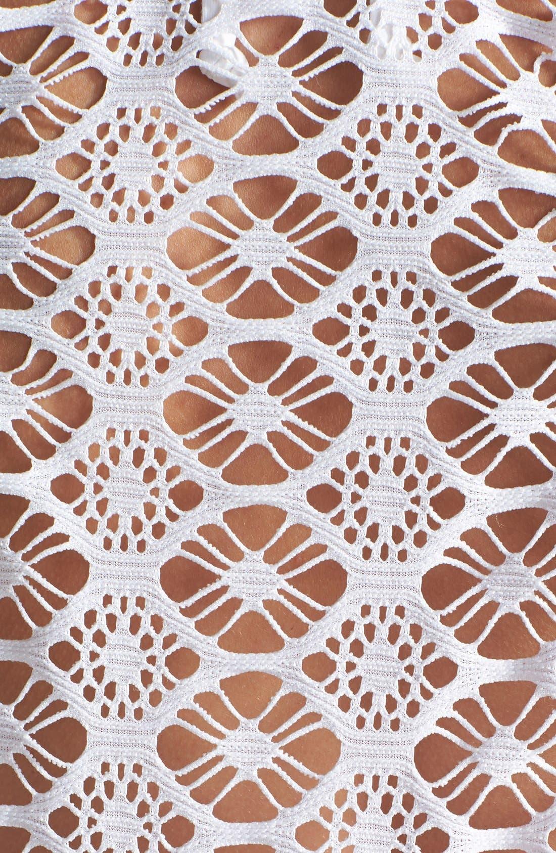 Alternate Image 3  - Steve Madden Crochet Cover-Up