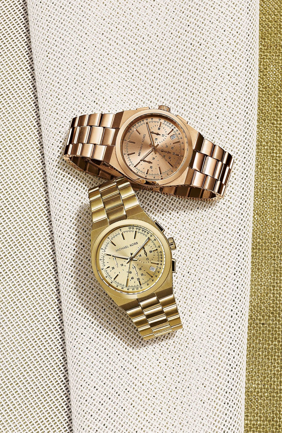 Alternate Image 3  - Michael Kors 'Channing' Chronograph Bracelet Watch, 38mm