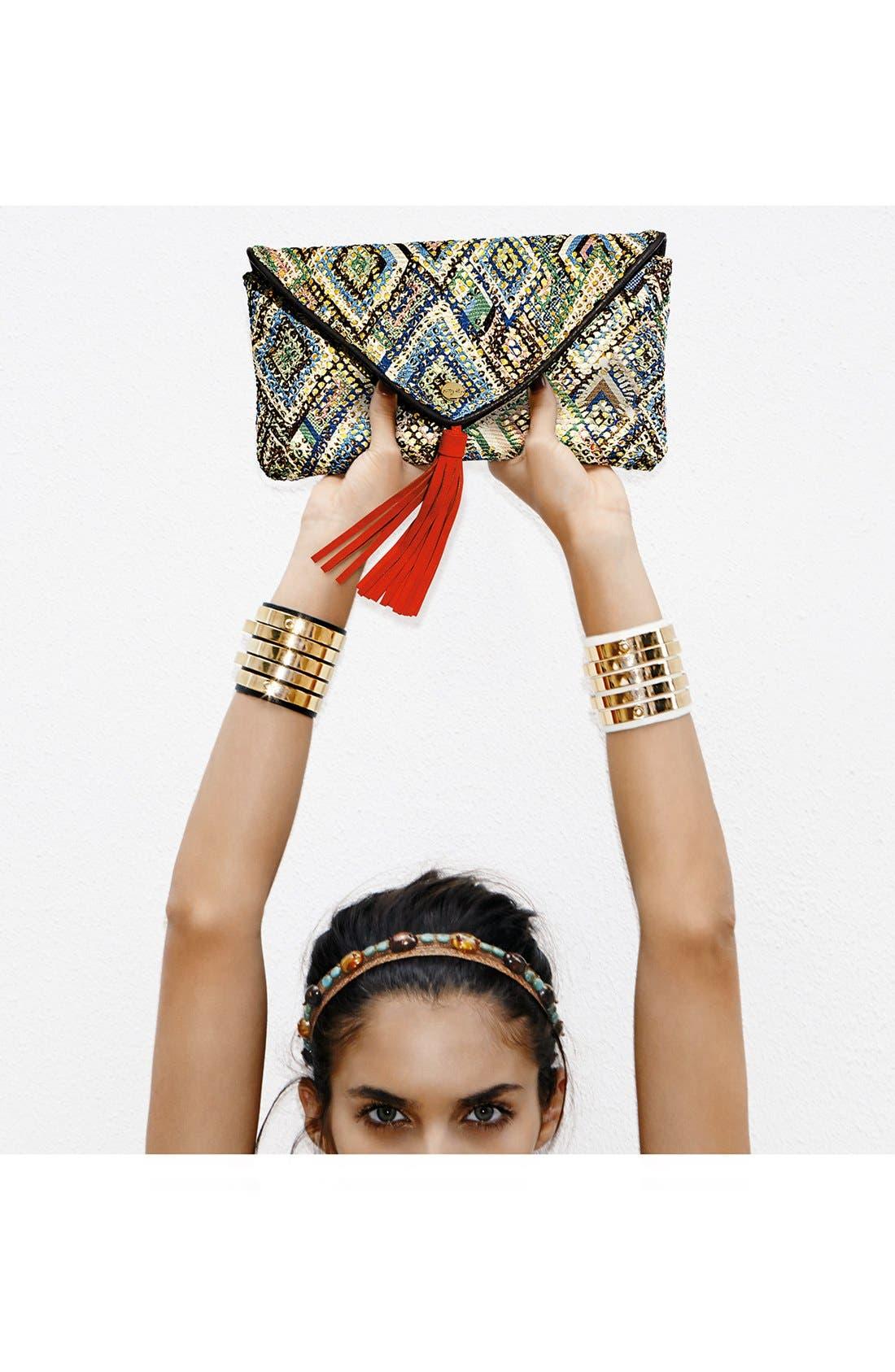 Alternate Image 7  - Cara Couture 'Gold Bar' Cuff