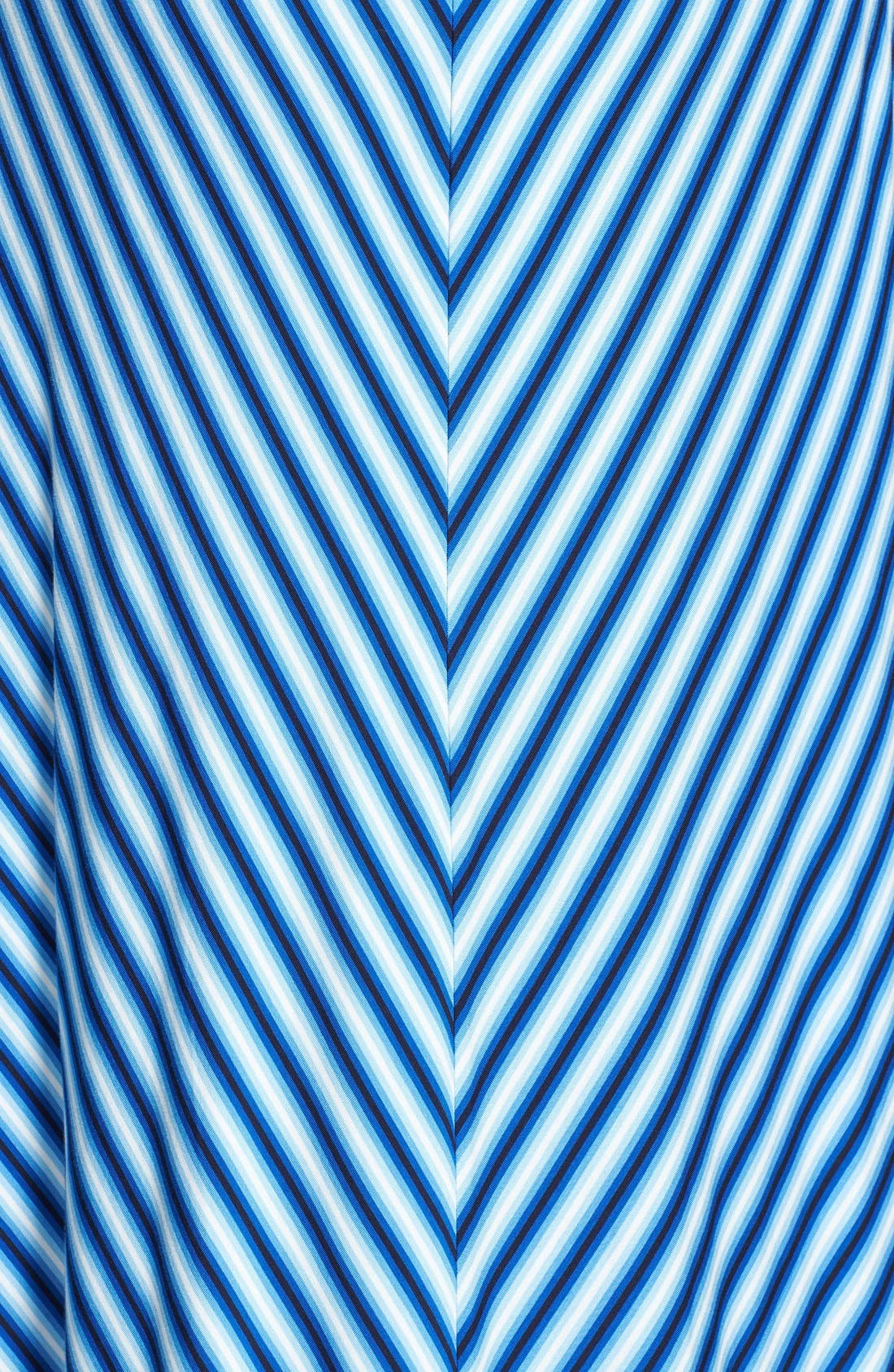 Alternate Image 3  - Calvin Klein Miter Stripe Maxi Dress (Plus Size)