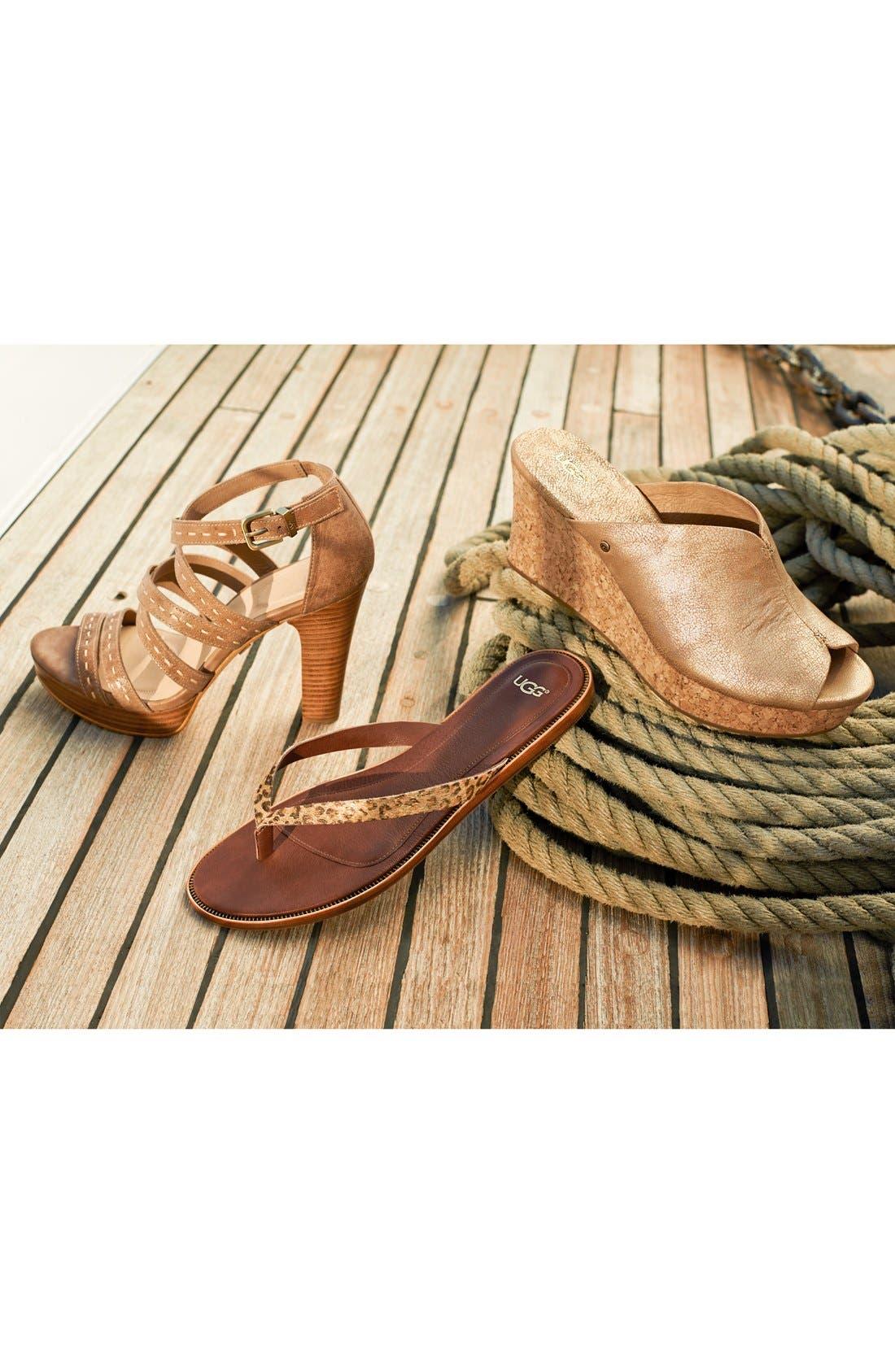 Alternate Image 7  - UGG® Australia 'Foxe' Sandal