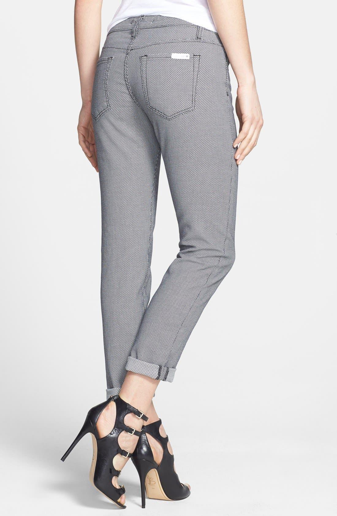 Alternate Image 2  - Joe's Slim Jacquard Pants