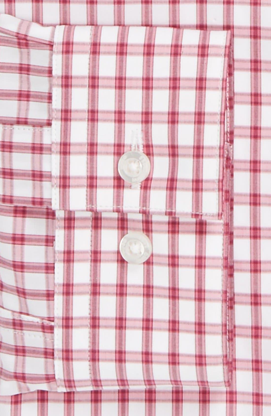 Alternate Image 2  - HUGO Modern Fit Check Dress Shirt