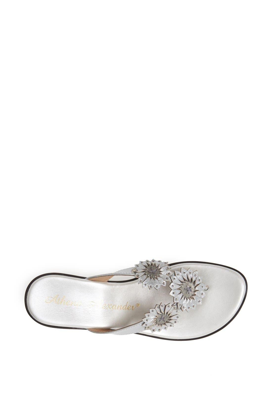 Alternate Image 2  - Athena Alexander 'Clover' Thong Sandal