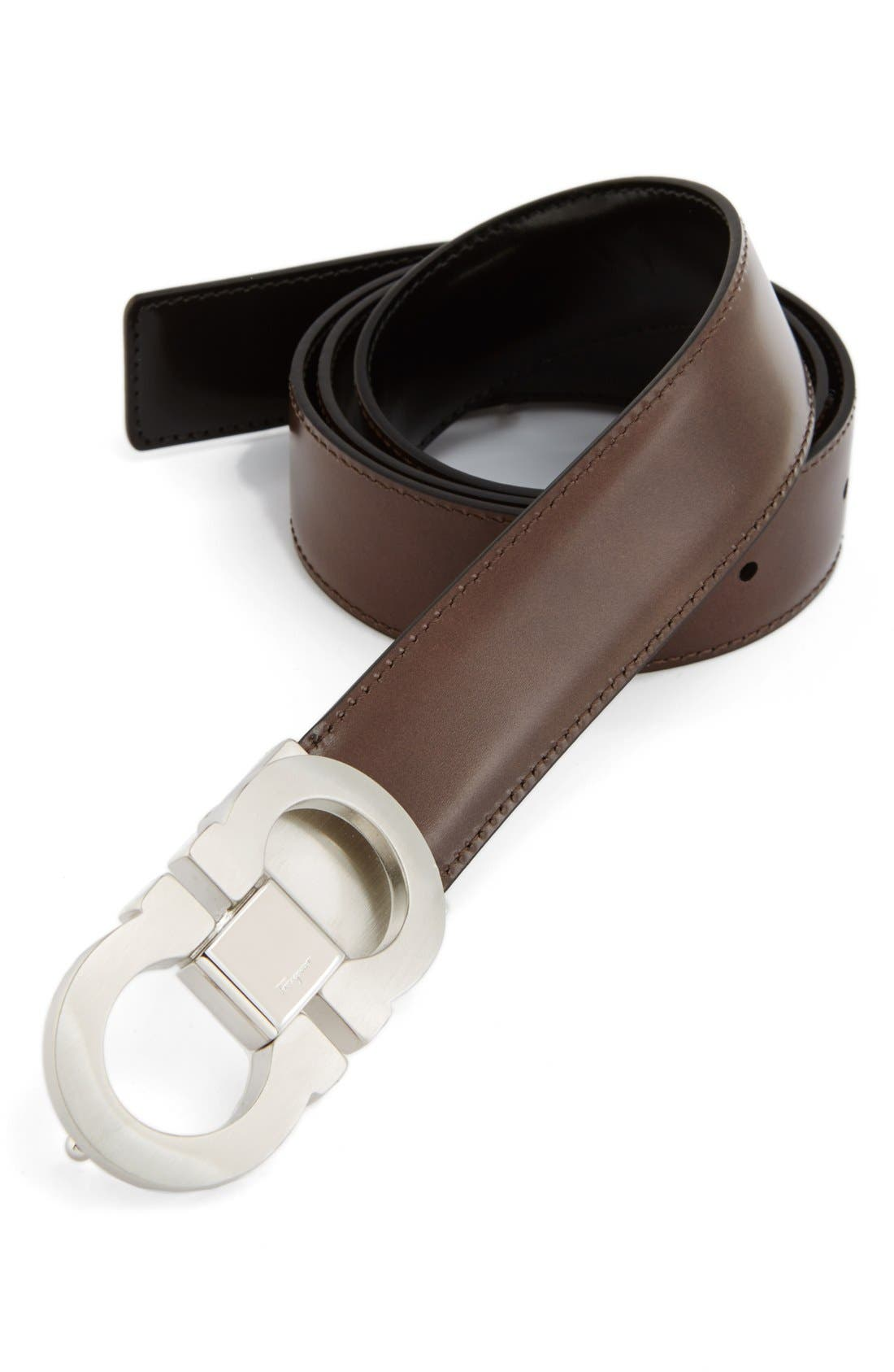Alternate Image 3  - Salvatore Ferragamo Double Gancio Reversible Leather Belt