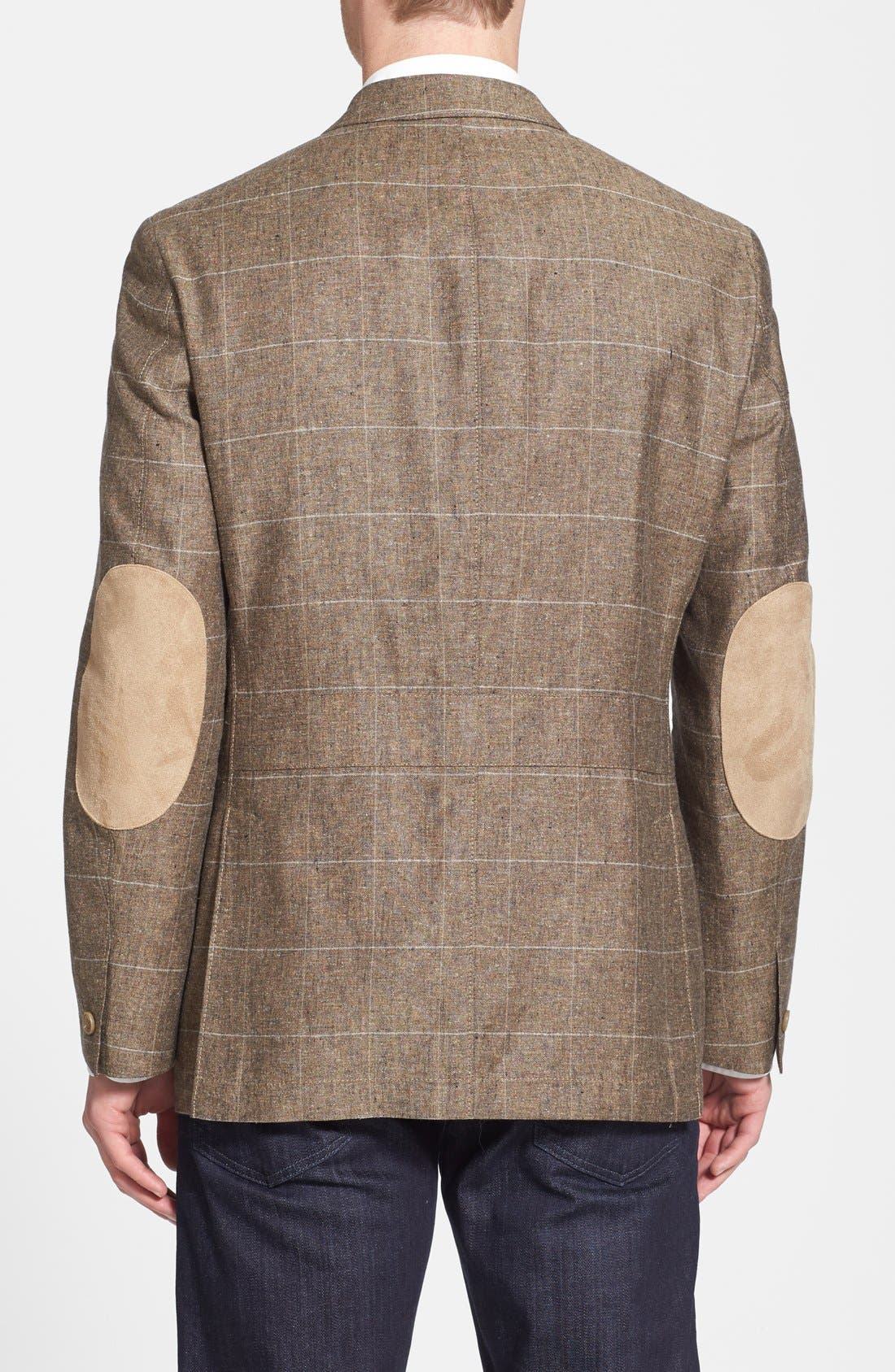 Alternate Image 2  - Kroon 'Fray' Regular Fit Silk & Linen Blazer