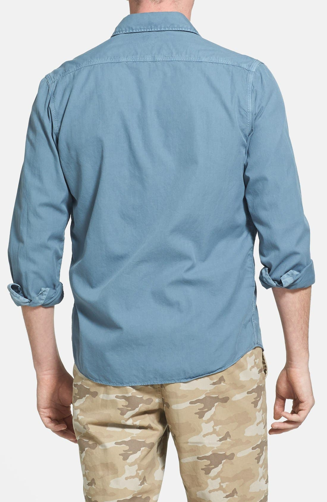 Alternate Image 2  - Faherty 'Sea View' Twill Sport Shirt