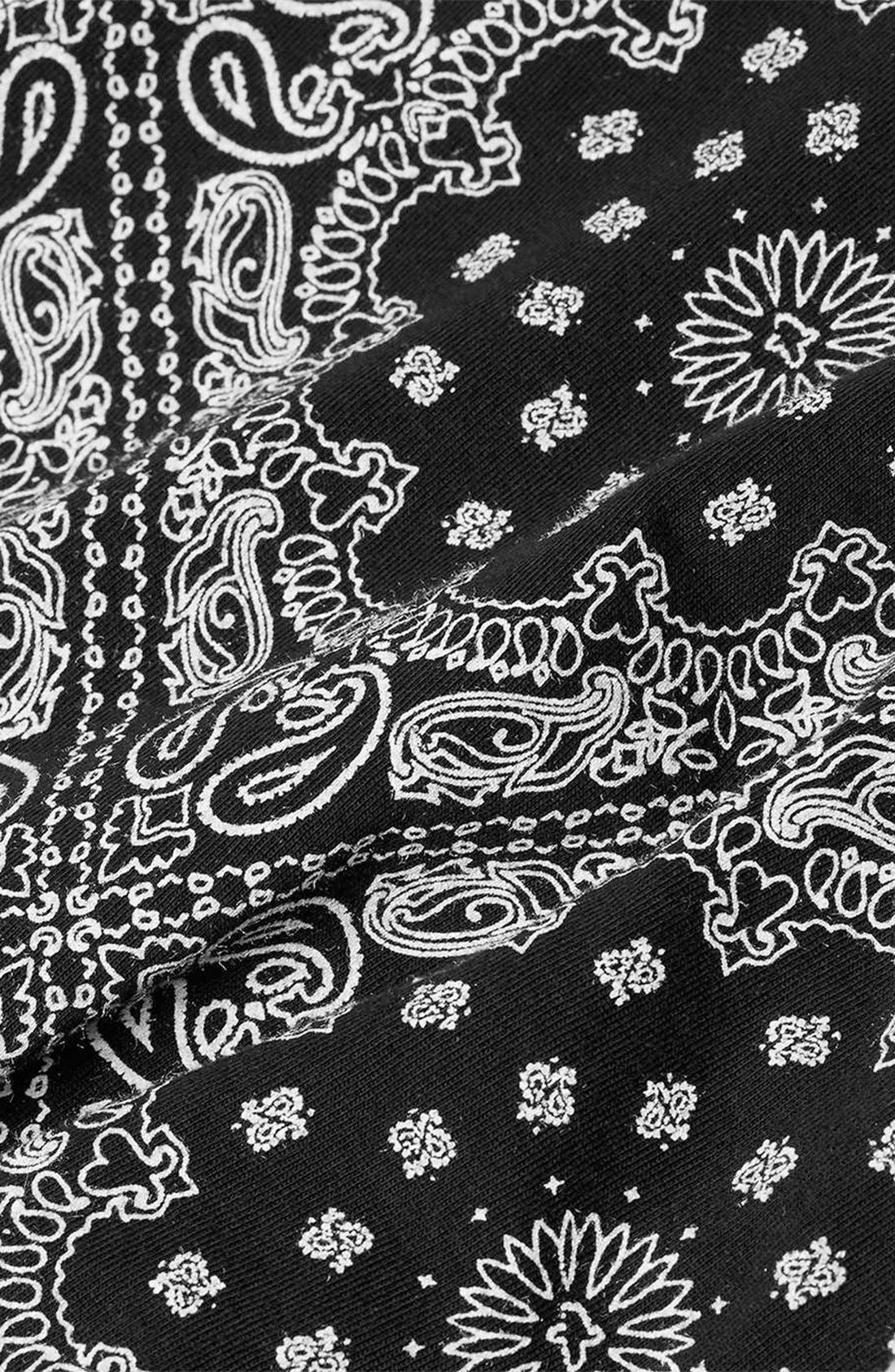 Alternate Image 3  - Topman Bandana Print Cotton Tee