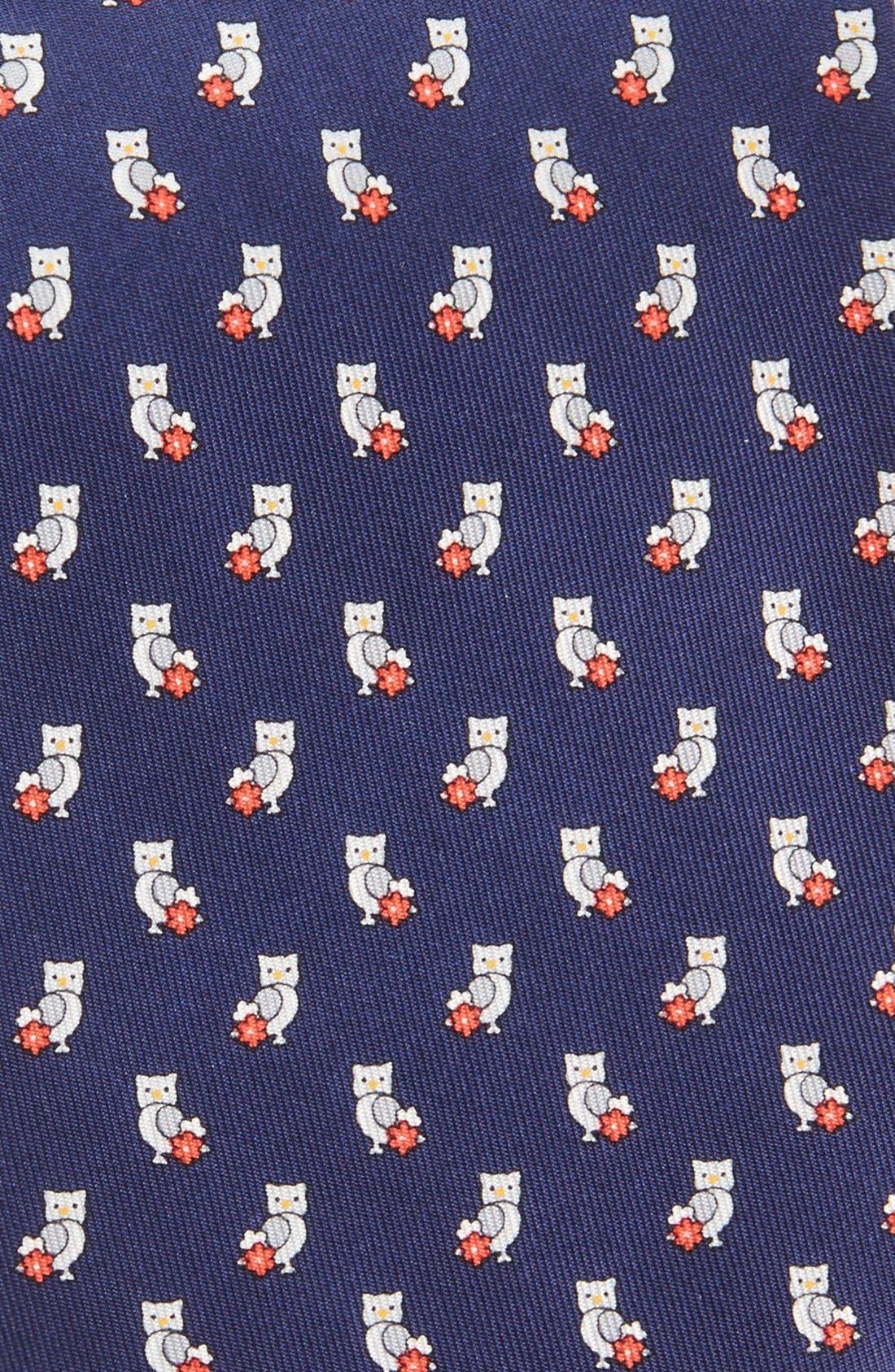 Alternate Image 2  - Salvatore Ferragamo Owl Print Tie