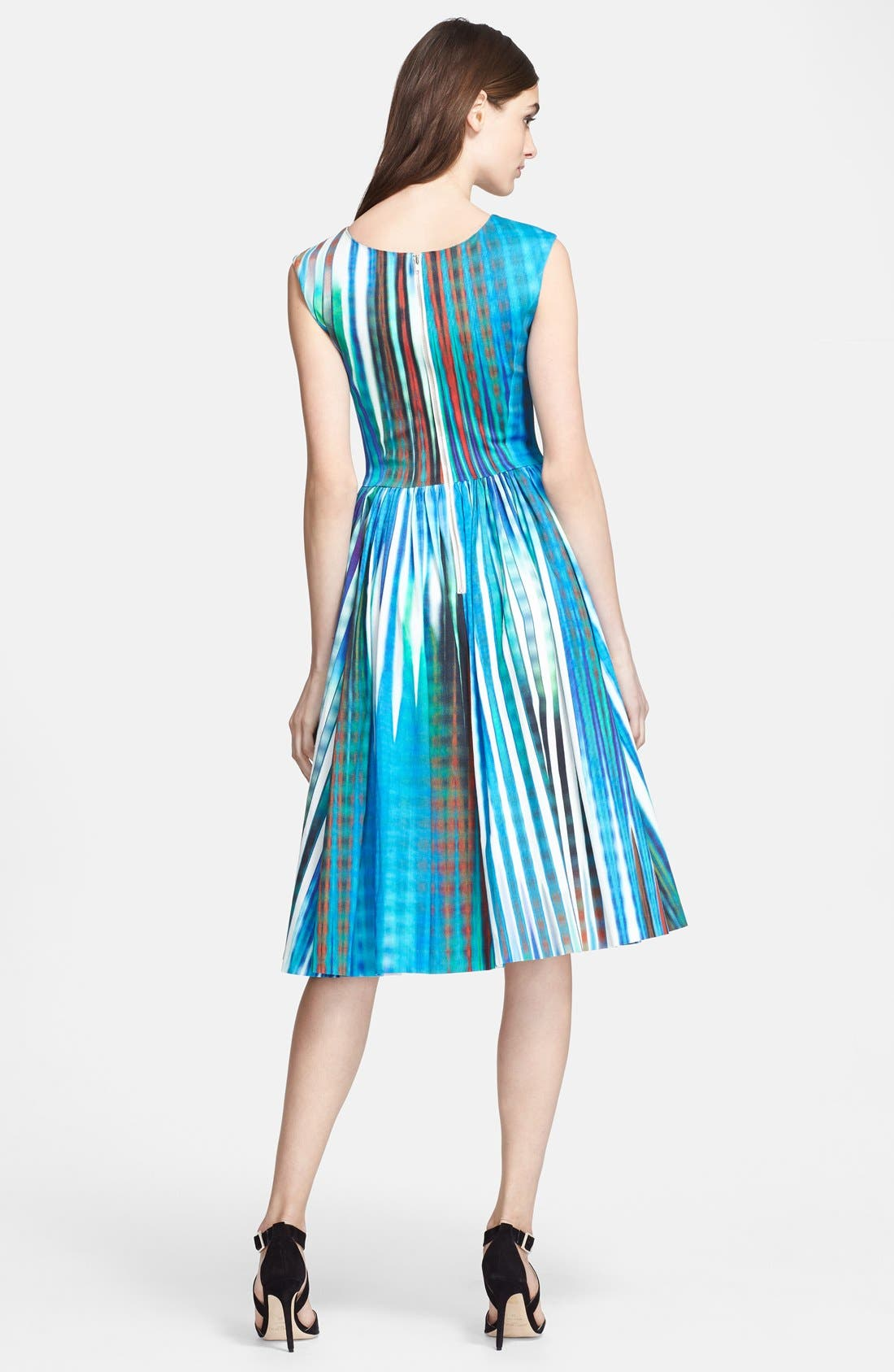 Alternate Image 2  - Tracy Reese 'Dolce Vida' Print Stretch Twill Dress