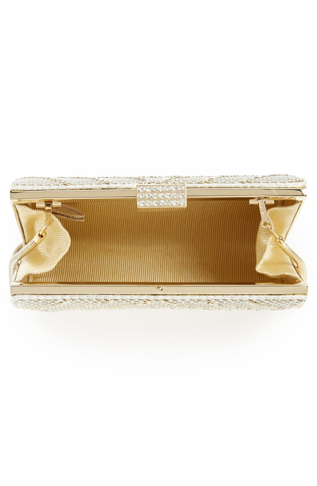 Alternate Image 3  - Whiting & Davis 'Diamond Heights' Clutch