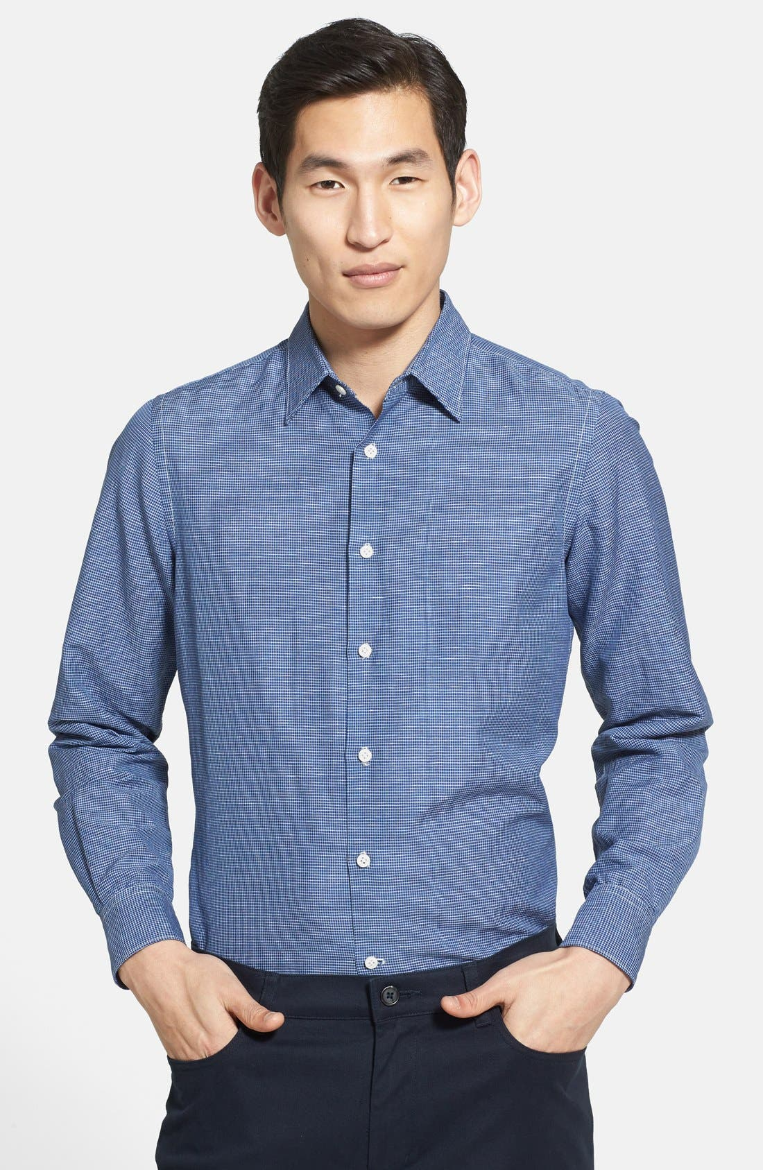 Alternate Image 1 Selected - Vince Regular Fit Sport Shirt
