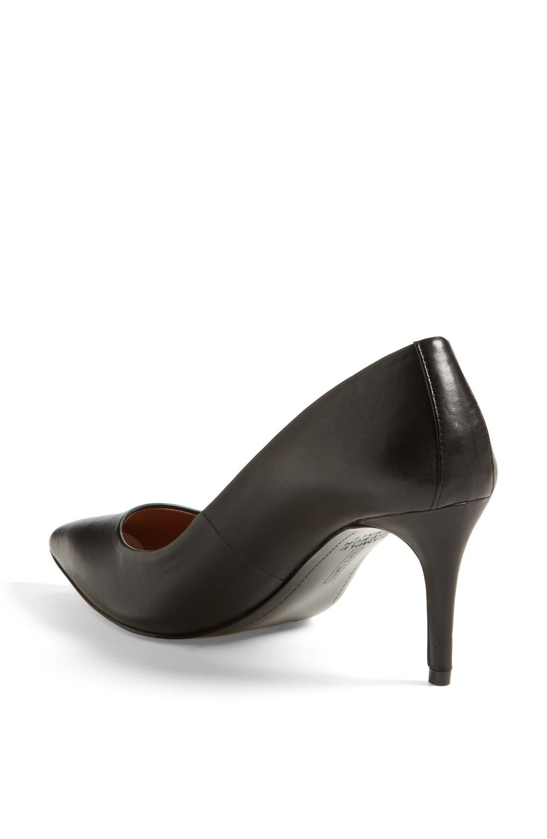 Alternate Image 2  - Vince Camuto 'Caprita' Leather Pointy Toe Pump (Nordstrom Exclusive) (Women)