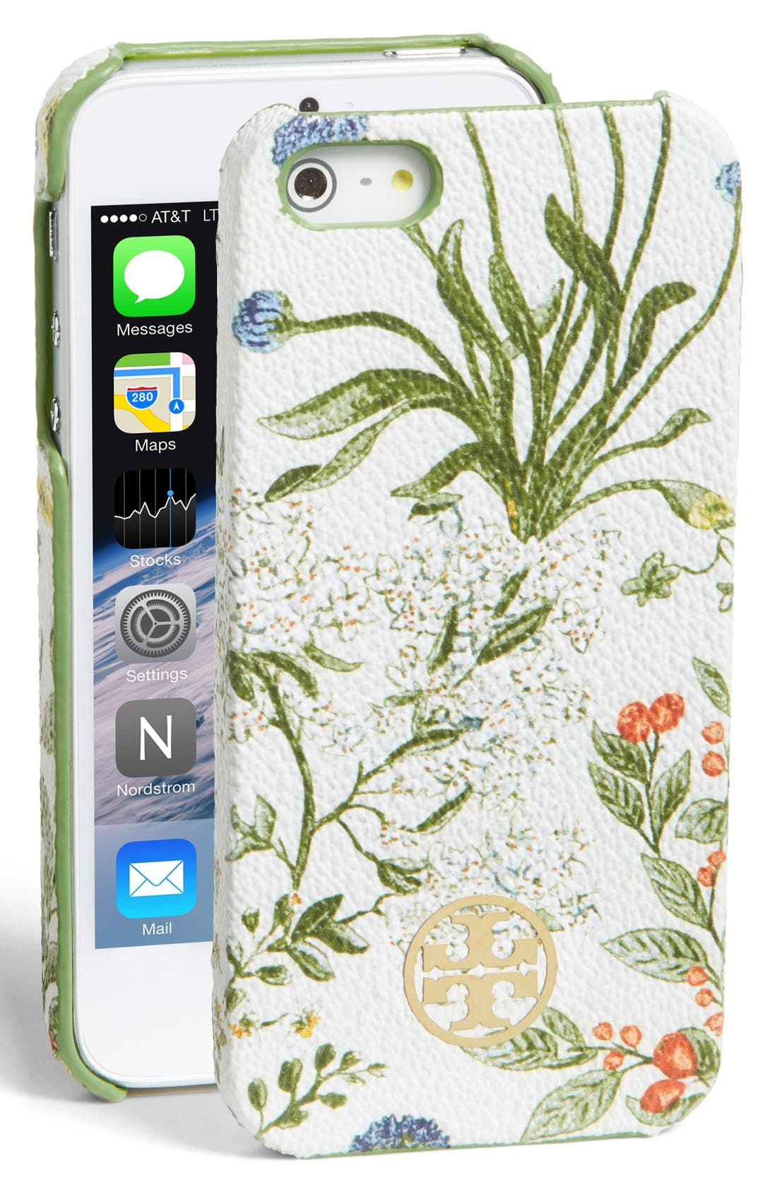 Alternate Image 1 Selected - Tory Burch 'Robinson' iPhone 5 & 5s Case