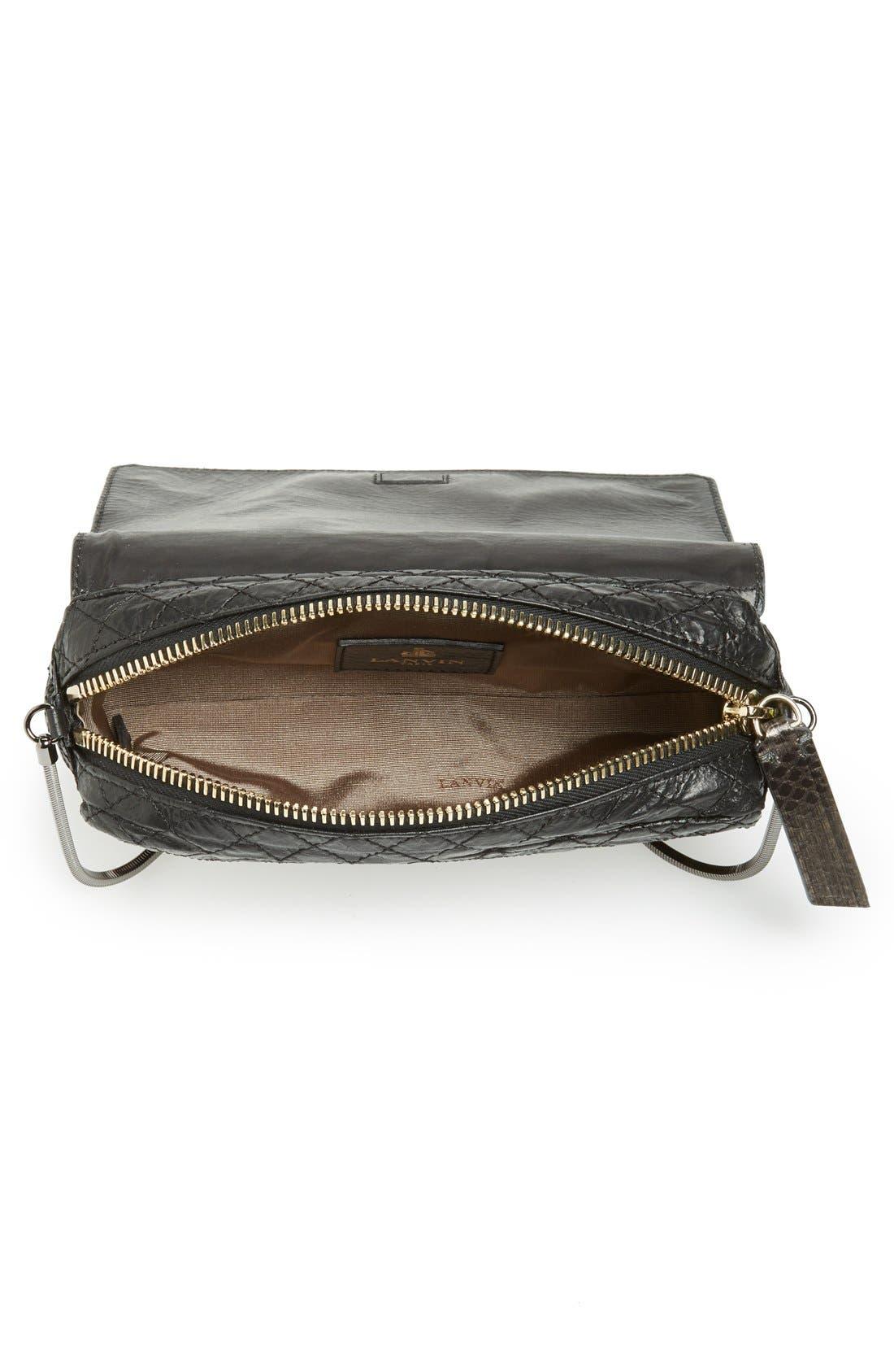 Alternate Image 3  - Lanvin 'Small Paper Bag' Lambskin Shoulder Bag