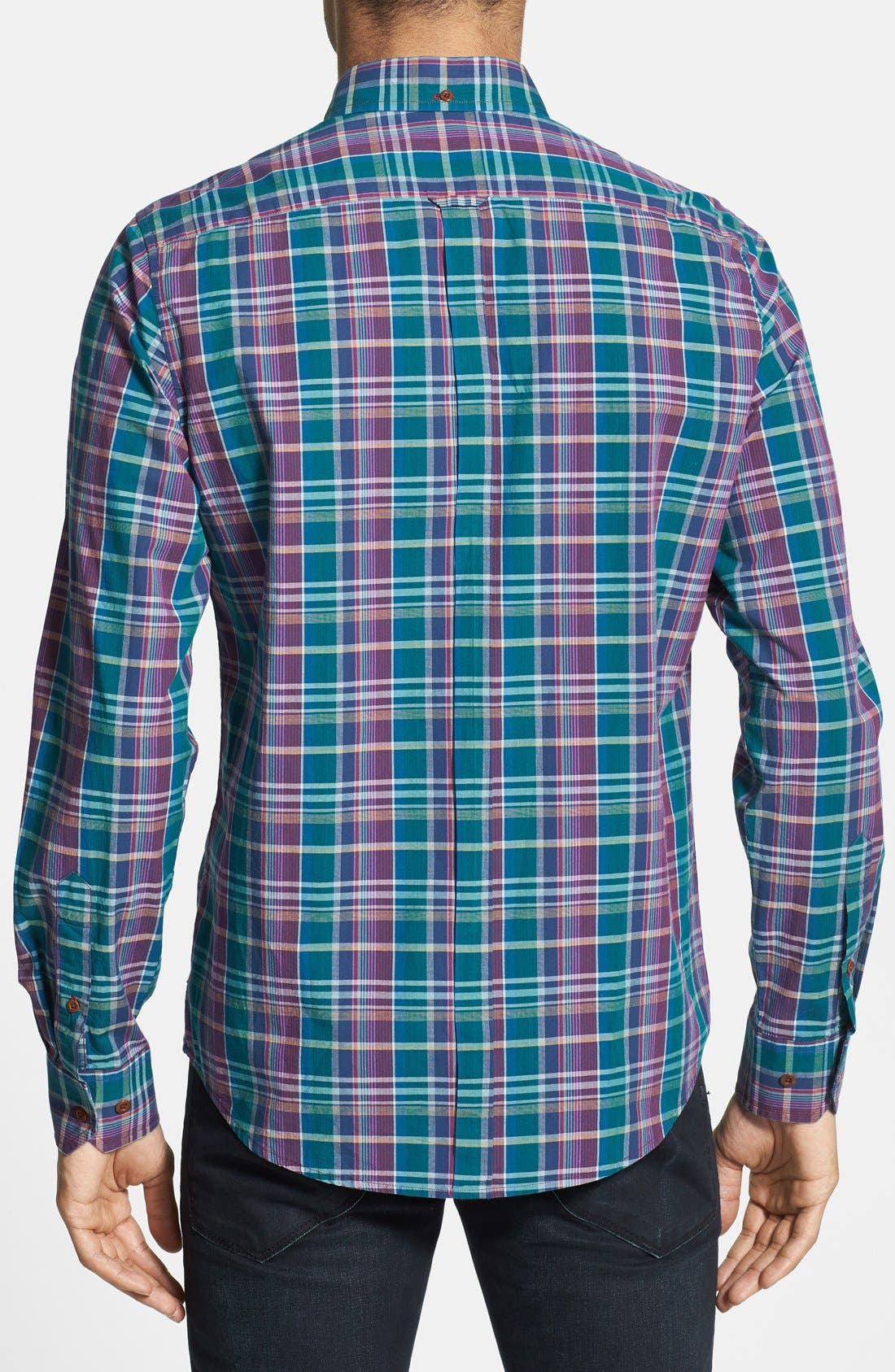 Alternate Image 3  - Ben Sherman Plaid Woven Shirt