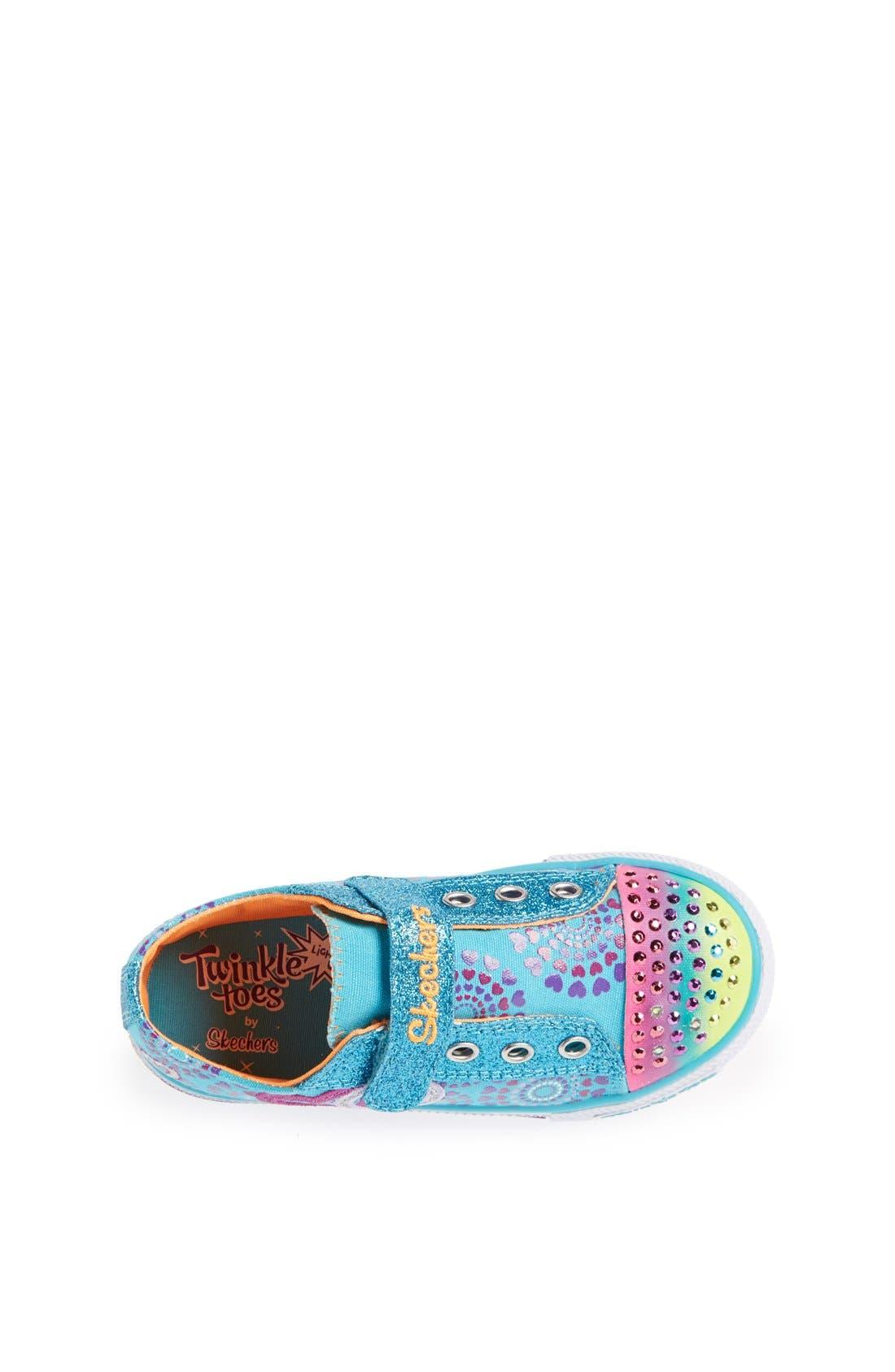 Alternate Image 3  - SKECHERS 'Shuffles - Love Burst' Sneaker (Toddler)