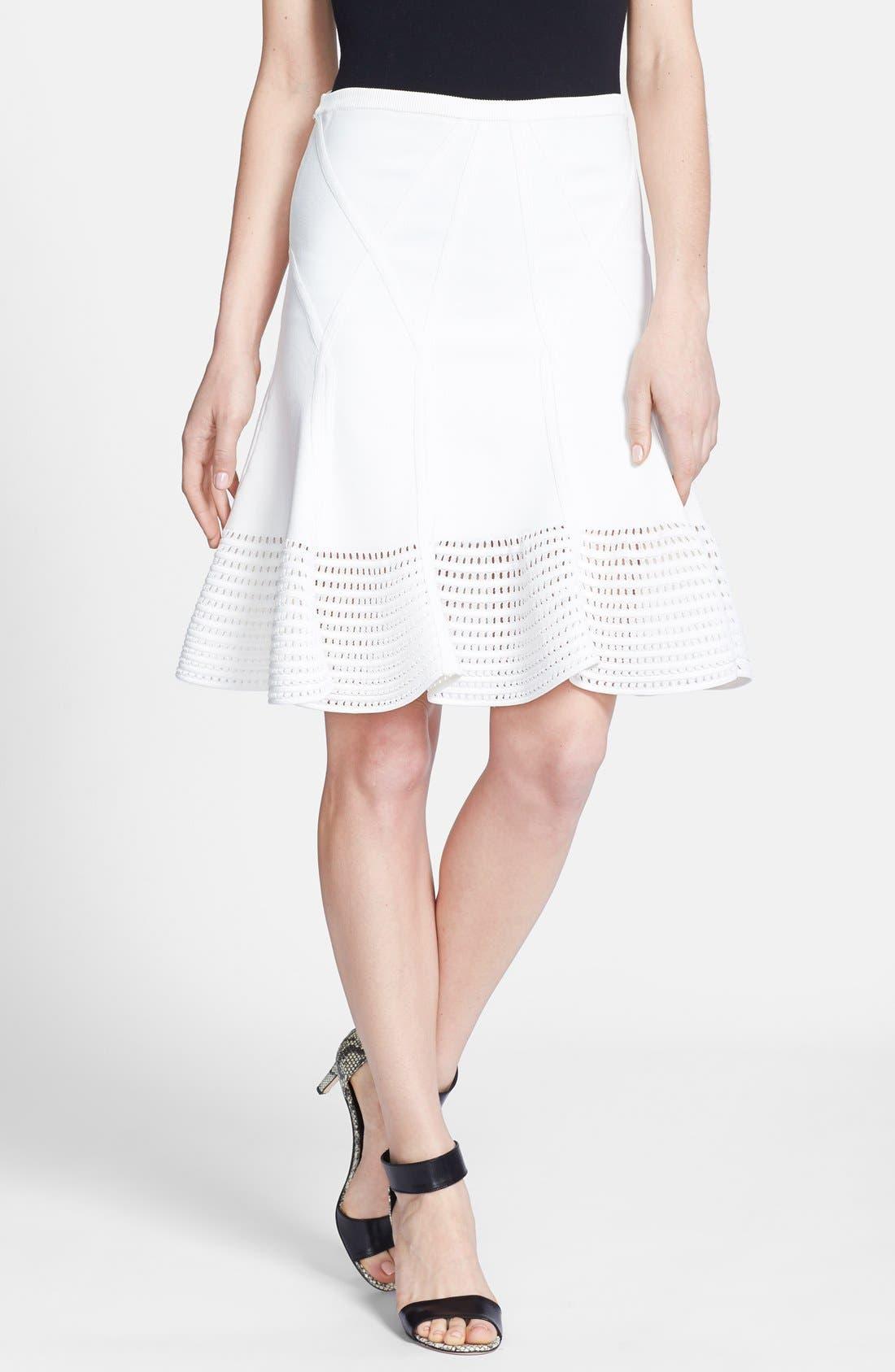 Alternate Image 1 Selected - Diane von Furstenberg 'Samara' Knit Flare Skirt