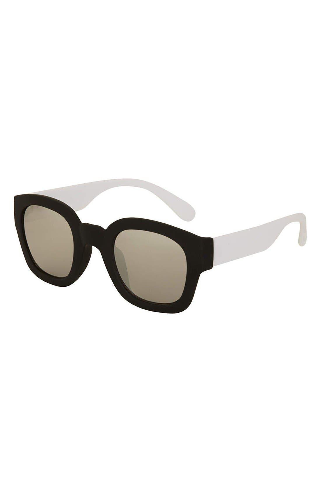 Alternate Image 1 Selected - Topshop 'Wade' 48mm Sunglasses