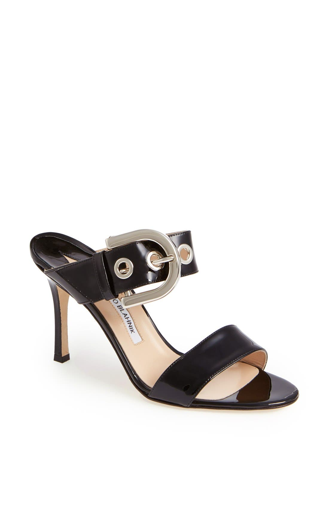 Alternate Image 1 Selected - Manolo Blahnik 'Bila' Slide Sandal